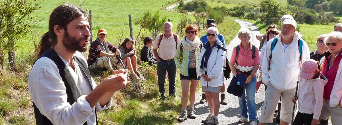 Conte et Botanique au PNR de Millevaches en Limousin - Laurent Azuelos